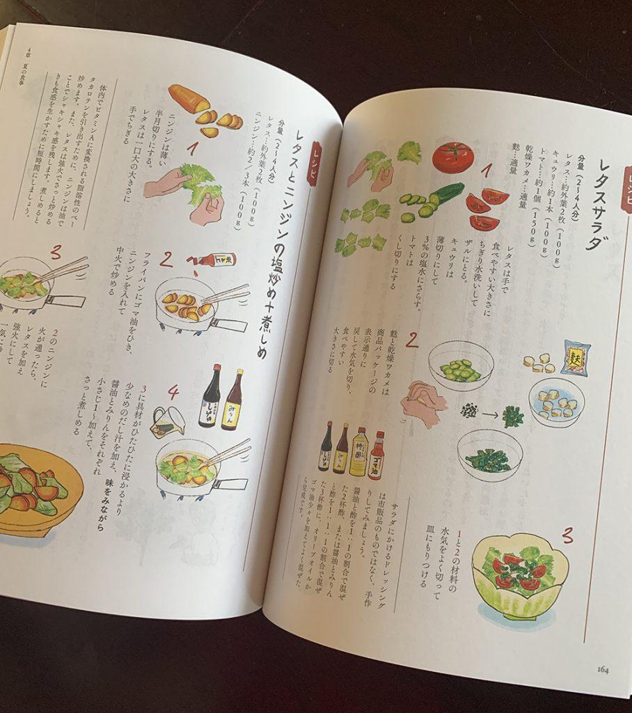 ふるさと村の食養レシピの本です。
